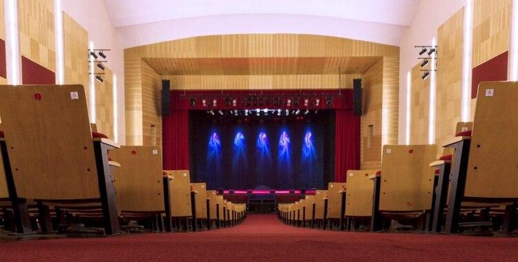 El teatro Mercedes Sosa, antes de las refacciones (Crédito: Teatro Mercedes Sosa)