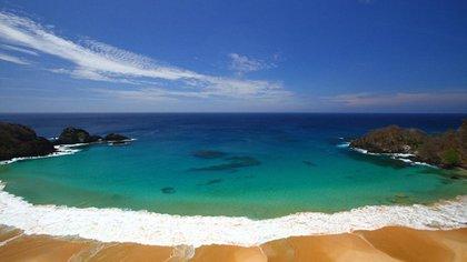 Praia da Baía do Sancho