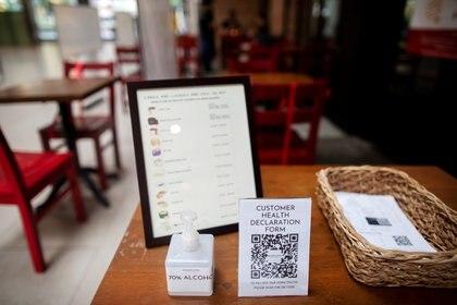 Reapertura de locales gastronómicos en el mundo, con nuevos hábitos y reglas. REUTERS/Eloisa Lopez