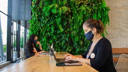 """""""Las empresas están sumando propuestas interactivas con halls y espacios comunes o multiuso para favorecer la interacción y el bienestar"""", dijo a Infobae Andrés Neumann"""