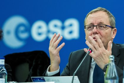 El director general de la Agencia Espacial Europea (ESA), Jan Wörner. EFE/Raúl Caro/Archivo