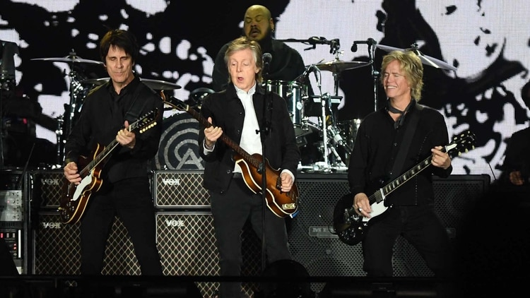 Paul McCartney brilló con una mezcla de clásicos y temas nuevos (Télam)