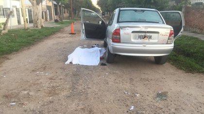 La víctima tenía 35 años y fue acribillado en la puerta de la casa de su madre