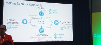 La protección se debe dar en varias capas, según se mencionó en el marco de la charla sobre 5G y ciberseguridad, en Cisco Live.