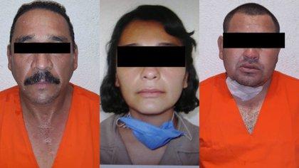 Presuntos implicados en el asesinato de Giovanni López (Foto: Facebook Enrique Alfaro)