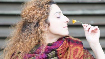 El neuroepitelio olfatorio se localiza en los cornetes superiores de la fosas nasales, en el techo de la nariz (Shutterstock)