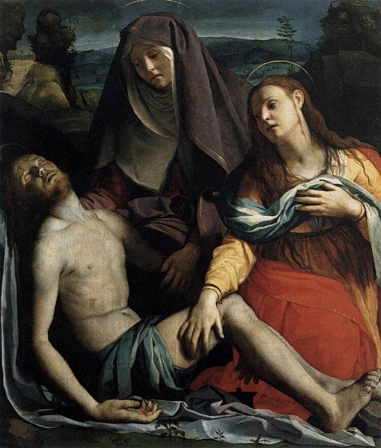Agnolo Bronzino, La Pietà con Maria Maddalena, 1529