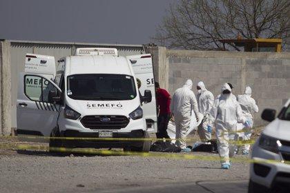 La FGE de Michoacán abrió una carpeta de investigación después de que fueron localizados cinco cuerpos sin vida (Foto: Gabriela Pérez Montiel/Cuartoscuro)