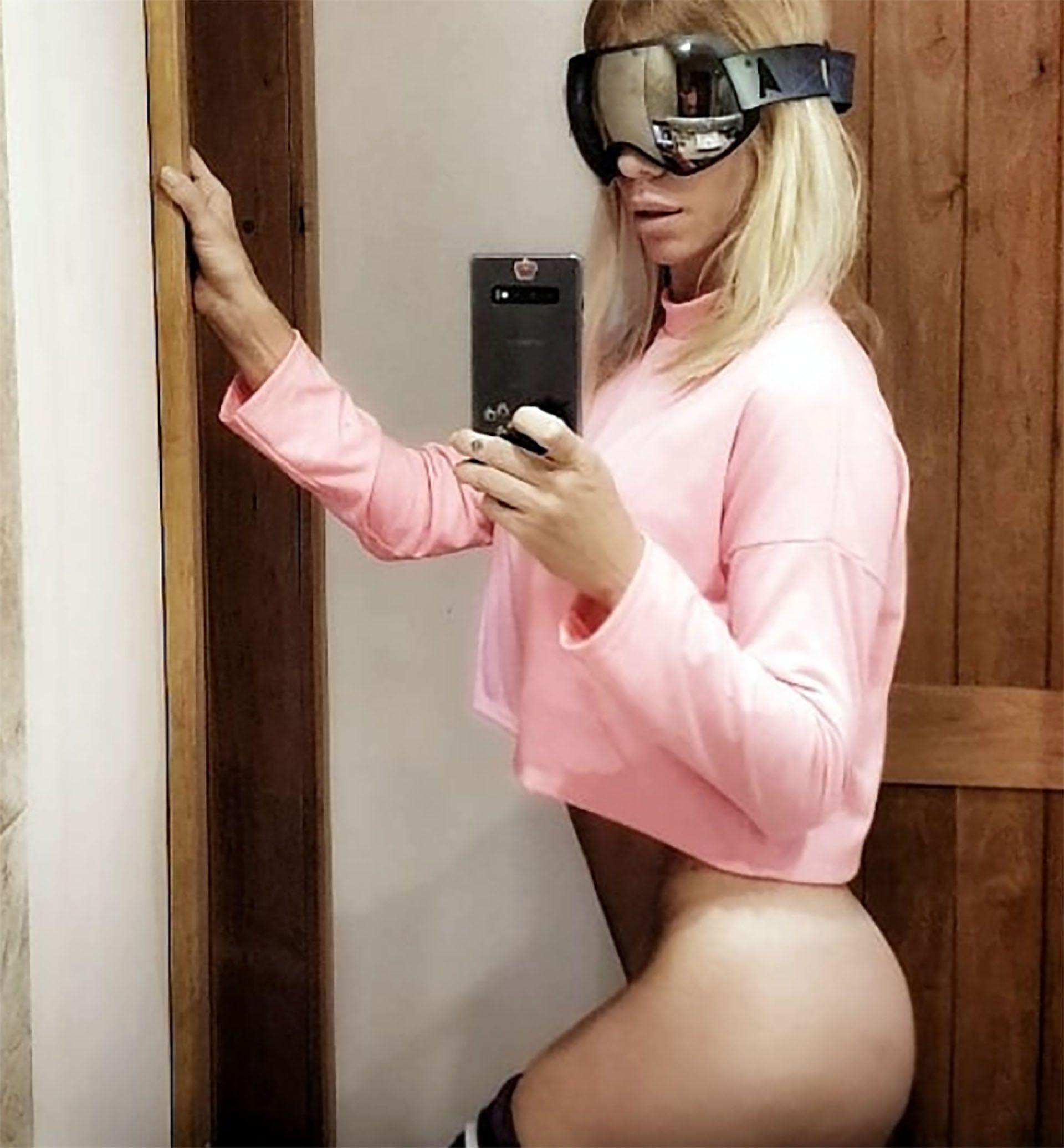 La selfie sensual de Nicole (Instagram)