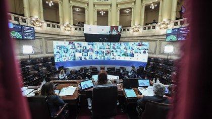 Sesión virtual en el Senado. Hace casi cinco meses votó por unanimidad la prórroga de la promoción de biocombustibles