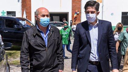 Mario Secco avec Nicolás Trotta à Ensenada (@trottanico)