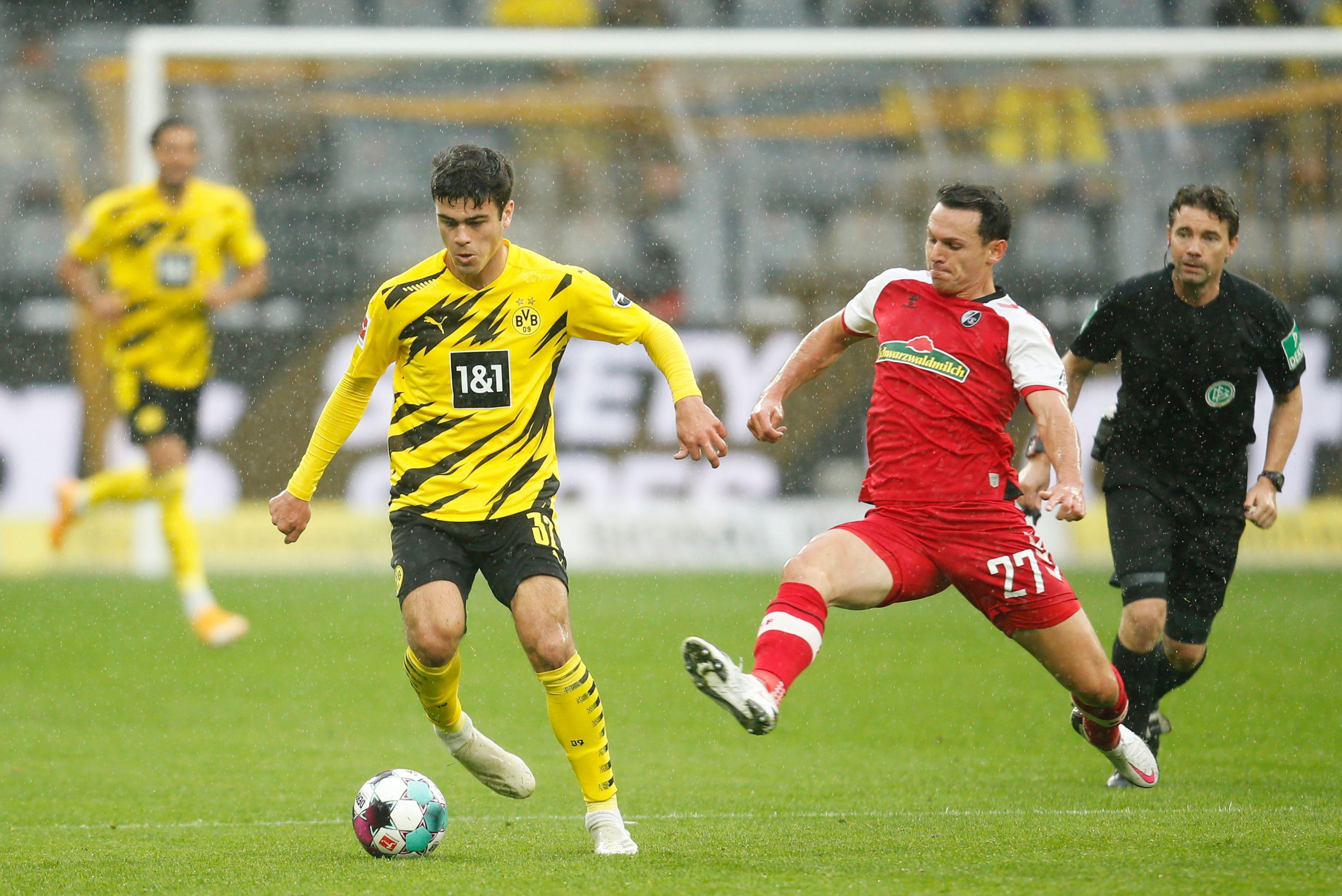 Giovanni Reyna, futbolista del Borussia Dortmund (REUTERS/Leon Kuegeler)