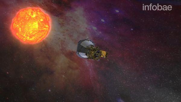 Solar Probe Plus aproximándose al Sol