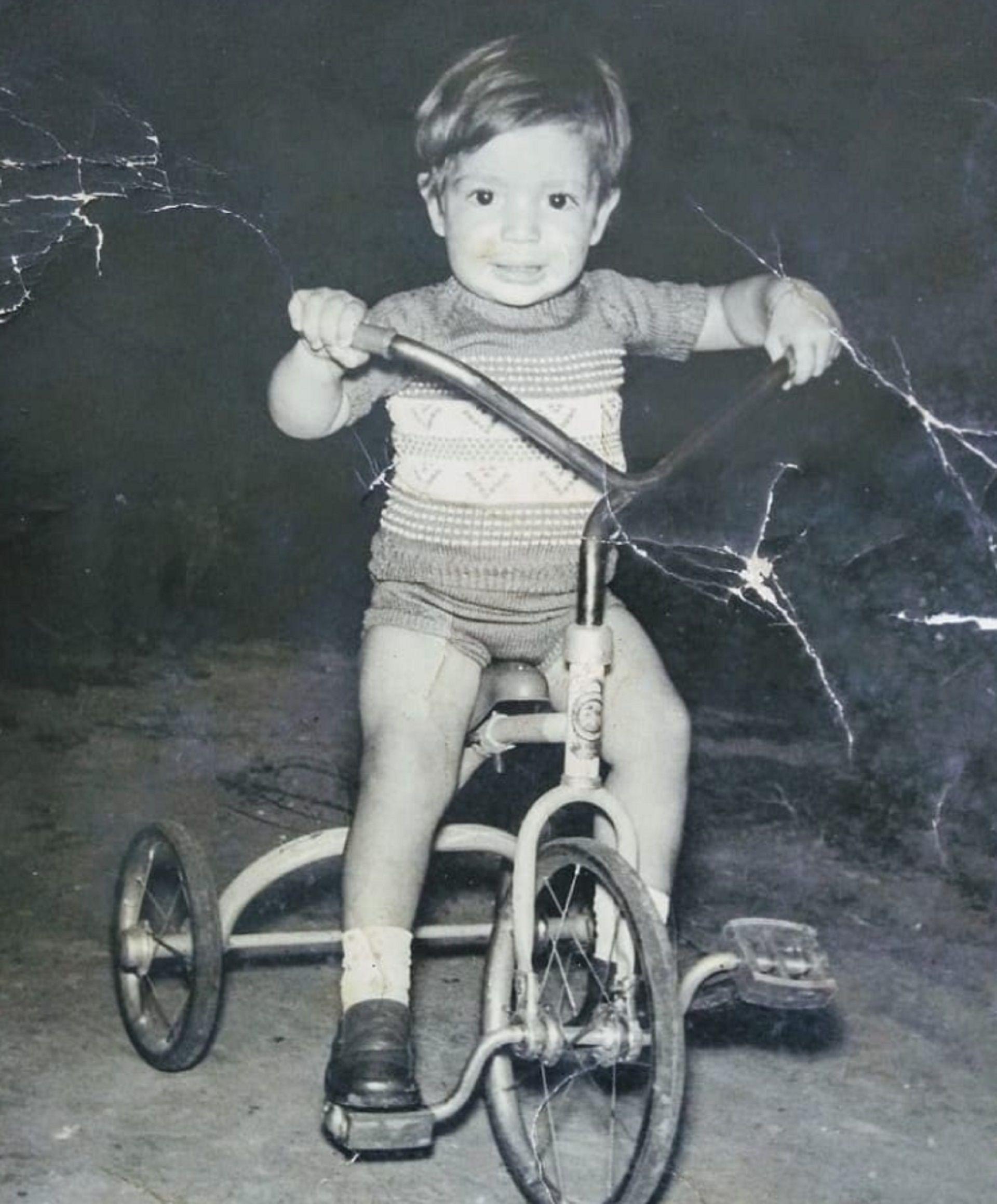 La foto que compartió Lizy Tagliani de su infancia