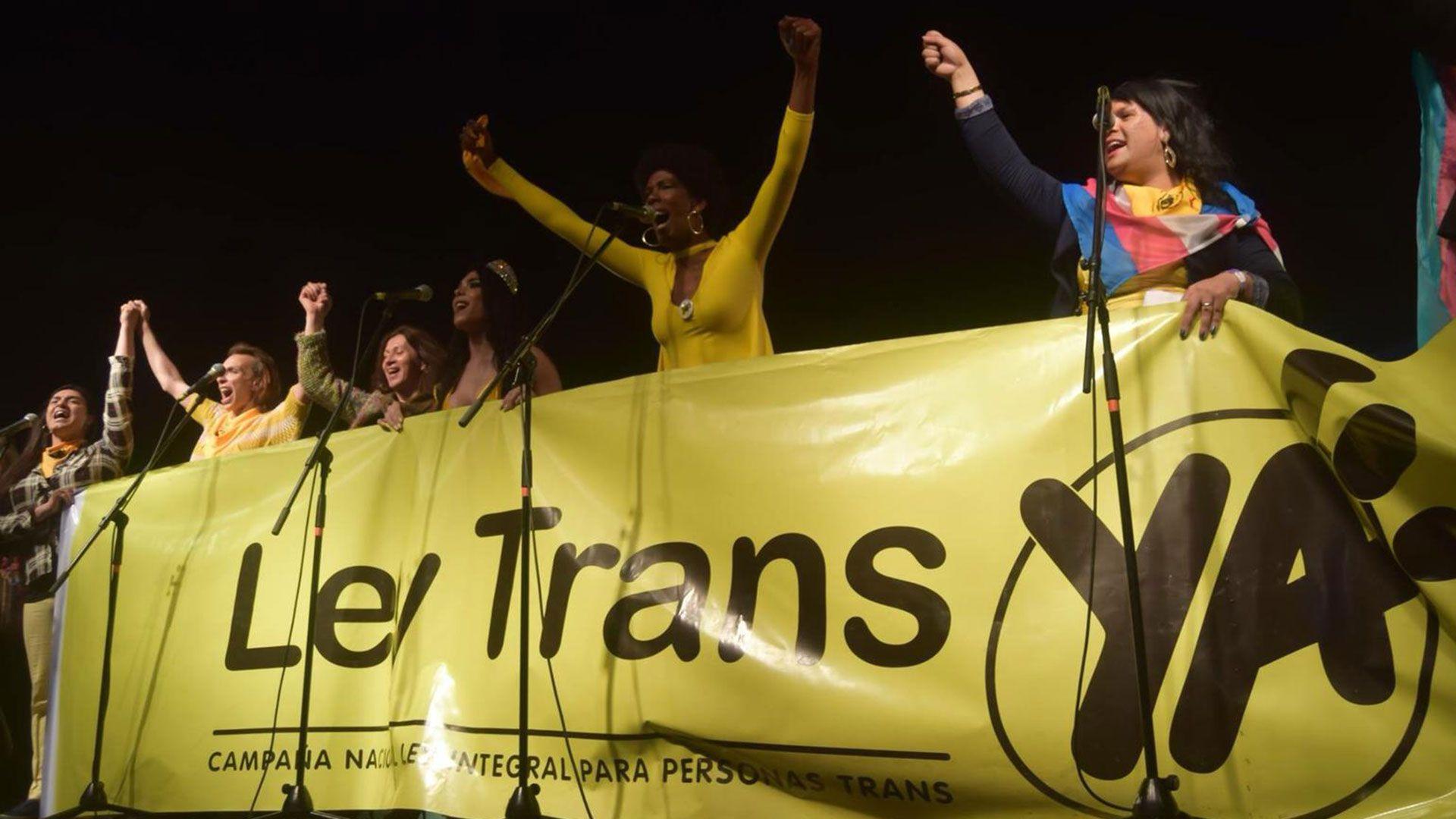 El 19 de octubre del año pasado se aprobó la Ley Integral de Personas Trans que grupos evangelistas quisieron derogar este domingo