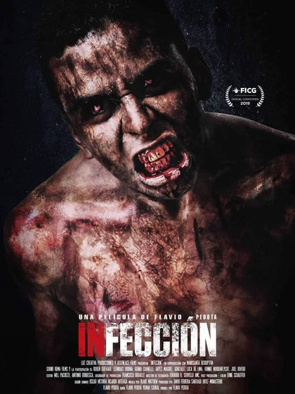 """Poster de """"Infección"""""""