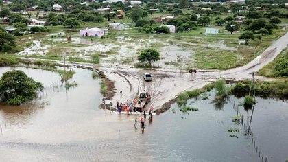 Las inundaciones afectaron a gran parte del país en enero (Prensa CONINAGRO)