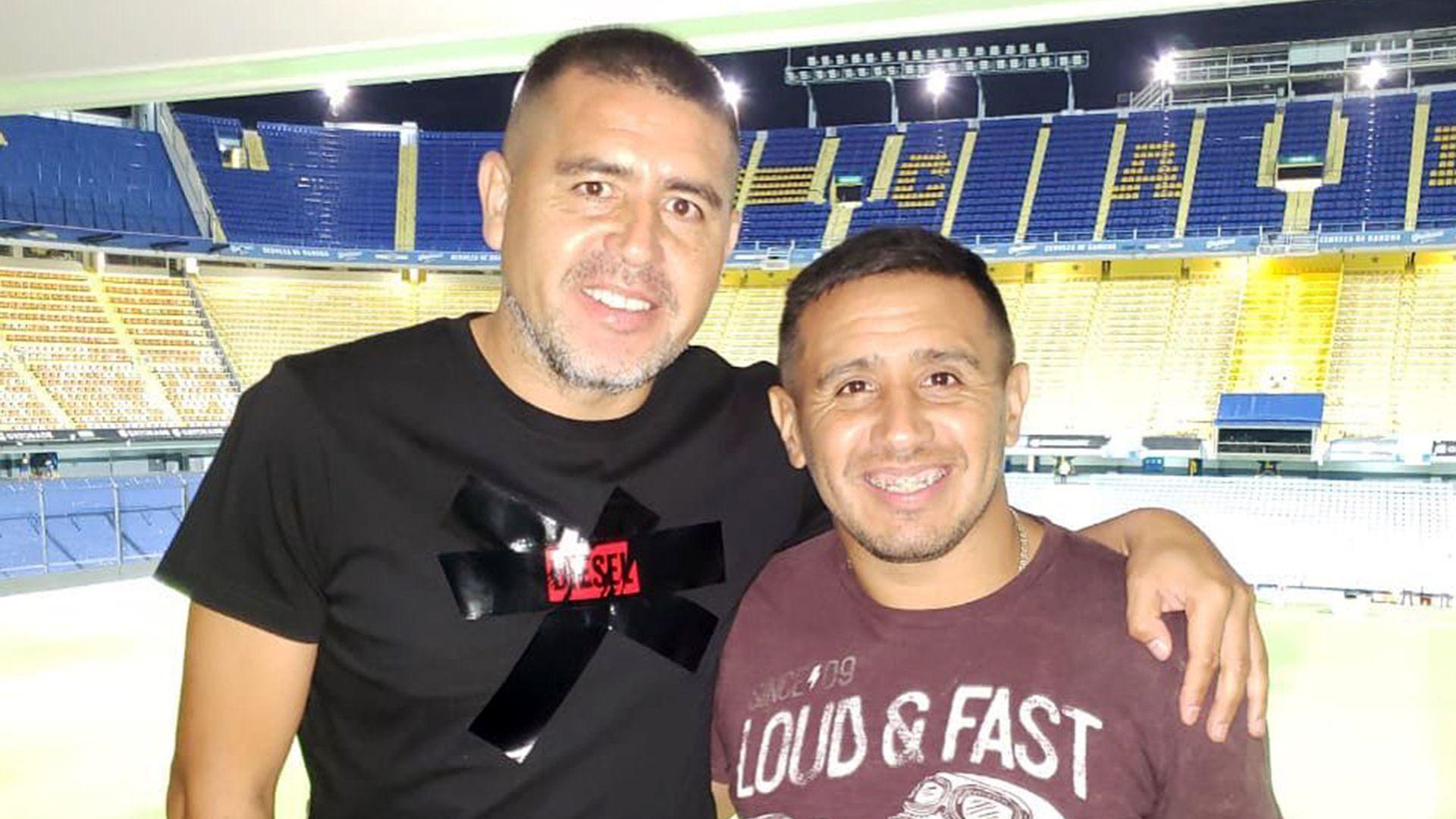 Juan Román Riquelme fue intervenido en su rodilla izquierda en el Sanatorio de La Trinidad, en San Isidro