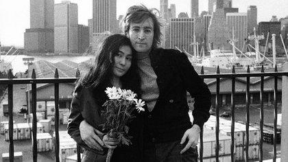 Un fotograma de un documental sobre la vida de Lennon y de Ono en Nueva York (EFE/PBS)