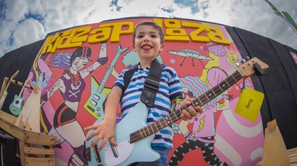 Kidzapalooza en el Lollapalooza