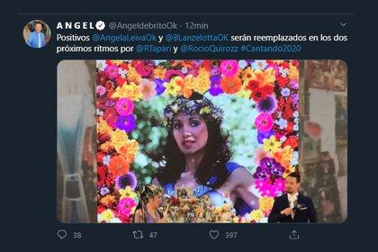 El tuit de Ángel de Brito