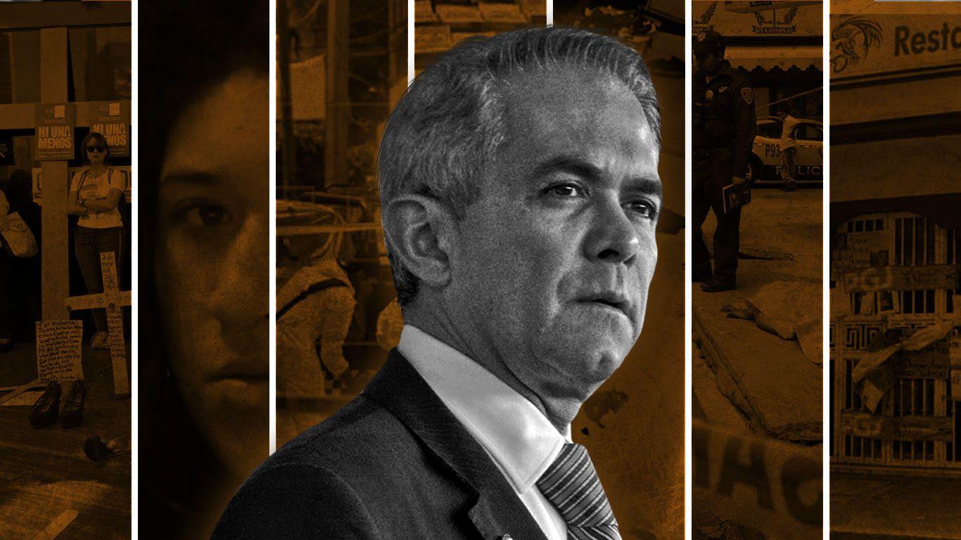 El ex jefe de gobierno de la Ciudad de México, Miguel Ángel Mancera (Foto arte: Gil Jovani Perez Silva/ Infobae)