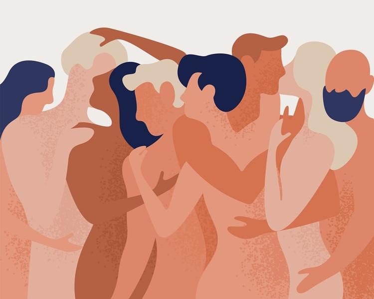Psicológicamente, los hombres y las mujeres ven los tríos como una validación de su estado sexual o nivel de atracción (Shutterstock)