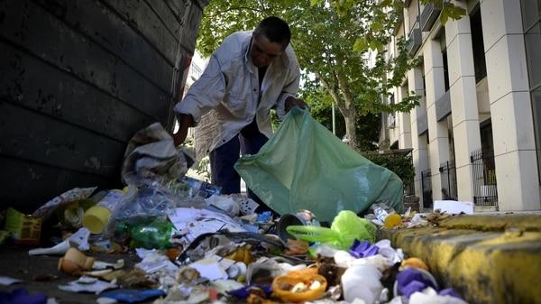El promedio diario de desechos por habitantes es de 1,03 kilos diarios en todo el país (Gustavo Gavotti)