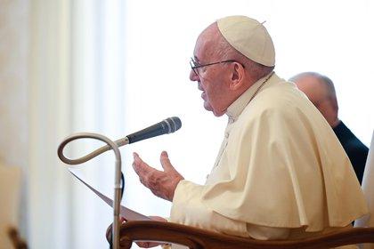 El papa Francisco también reclamó una distribución equitativa de las vacunas (EFE)