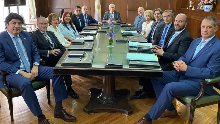 Los jueces de Casación hace dos semanas, al decidir las nueva autoridades