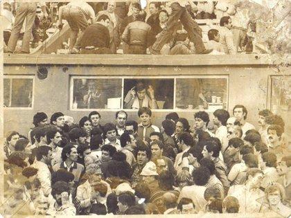 Víctor Hugo, en su lugar en el mundo: la cabina de transmisión