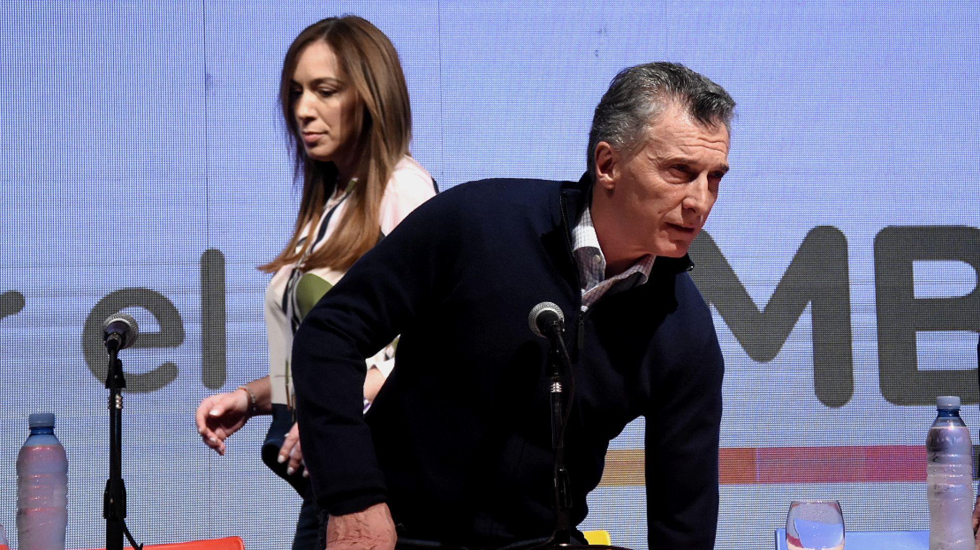 Mauricio Macri y María Eugenia Vidal (Nicolás Stulberg)