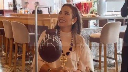 """""""Me sobra fuerza"""": Luly Bossa celebra su cumpleaños causando dulces desastres"""