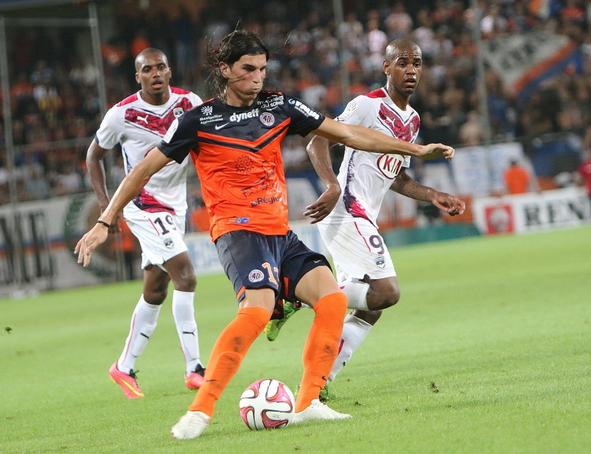 Dylan Gissi en Montpellier