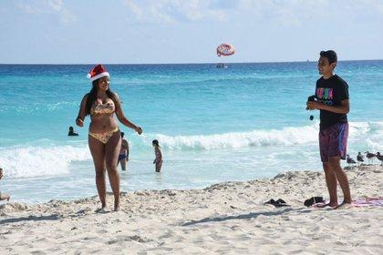 Las playas de México suelen albergar millones de turistas año con año (Foto: Cuartoscuro / Elizabeth Ruiz)