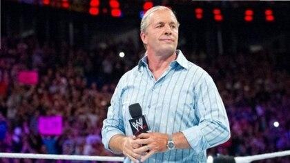 Bret Hart informó que le diagnosticaron  diagnosticaron un carcinoma de células basales (Foto:Twitter @WrestleTalk_TV)