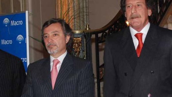 Delfín Jorge Ezequiel Carballo, junto a Jorge Horacio Brito