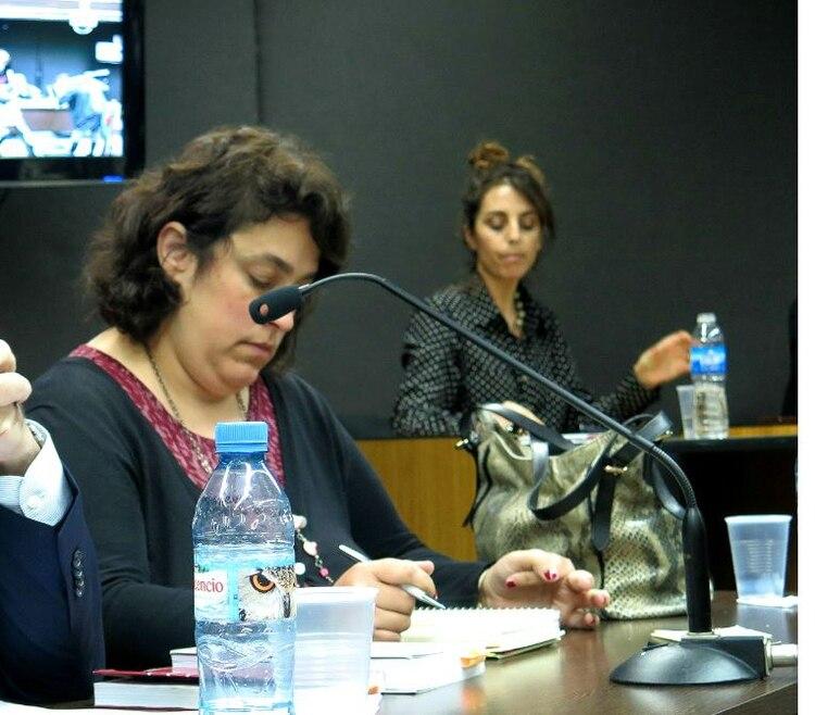 Laura Mazzaferri, fiscal del caso.