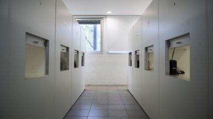 """""""Me gustó la arquitectura del lugar, ese pasillo donde no escuchaba personas sino computadores que hablaban. Parecía la Odisea del Espacio"""", relató Juan Manuel Repetto, director del documental, en relación a la sala de análisis sensorial"""