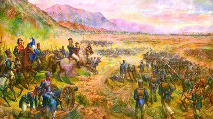 Batalla de Salta, uno de los triunfos de Belgrano en el norte.