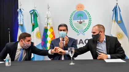El ministro de Economía Martín Guzmán disertó en Chaco y destacó que el Presupuesto tiene como objetivo la recuperación inmediata y aumentar la capacidad productiva en un plazo mediano para no chocar con restricciones.