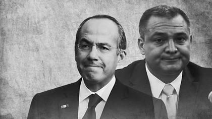 Felipe Calderón y Genaro García Luna, complicidades. (Fotoarte: Jovani Pérez Silva