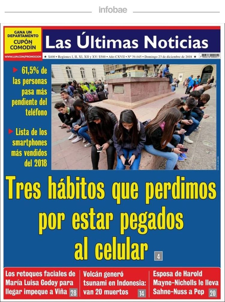 Las ultimas noticias - Chile - 23 de Diciembre de 2018 - Infobae 4a525ec2e51c7