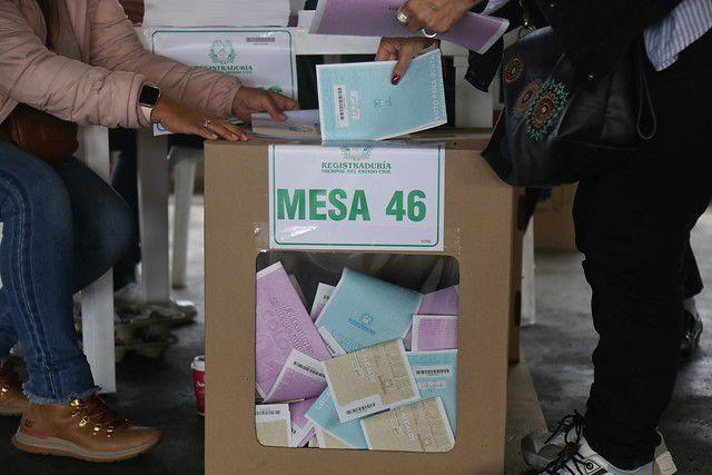 Votaciones Colombia