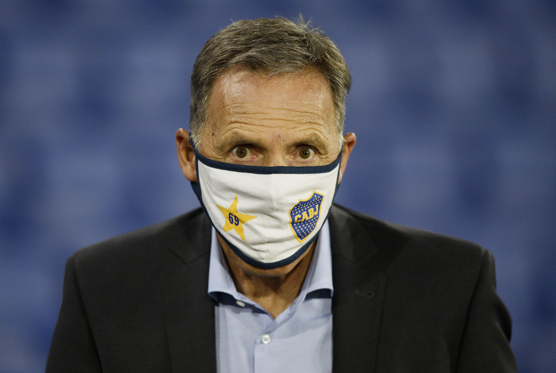 Russo ya tiene el once de Boca en la cabeza (REUTERS/Juan Mabromata)