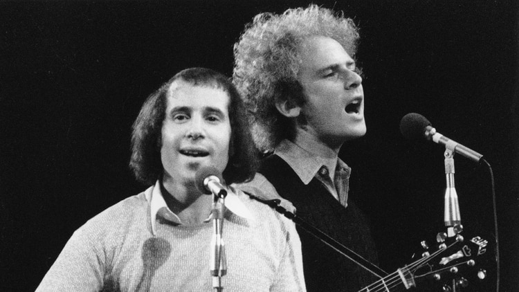 Simon And Garfunkel, 1968.