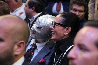 Bromas y risas (Foto: Juan Vicente Manrique/Infobae)