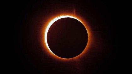 El eclipse solar total ocurrirá en Argentina y Chile el 2 de julio de 2019