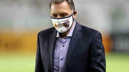 El blooper de Miguel Ángel Russo que se hizo viral en Boca-River: gritó un gol que no fue