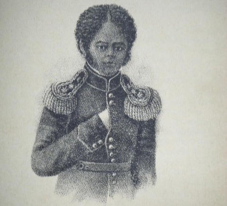 Lorenzo Barcala, el afroamericano, hijo de esclavos, que tuvo una destacada actuación militar en las luchas de la independencia y en guerra del Brasil.